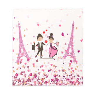 LOVE PARIS NOTEPAD