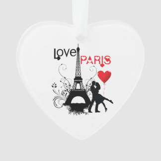 Love Paris Ornament