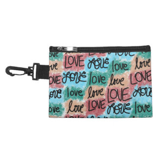 Love Patchwork Accessory Bag