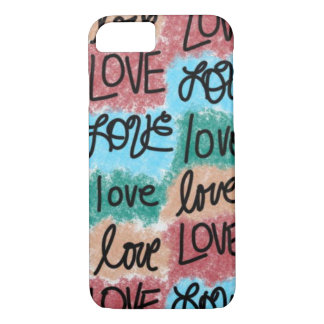 Love Patchwork iPhone 8/7 Case