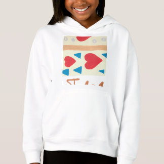 Love Path Girl's Fleece Pullover Hoodie