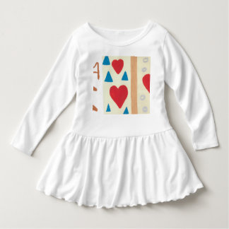 Love Path Toddler Ruffle Dress