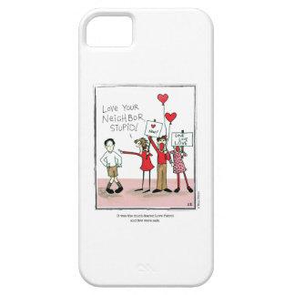 LOVE PATROL cartoon by Ellen Elliott iPhone 5 Covers