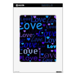 Love pattern 3 skins for iPad