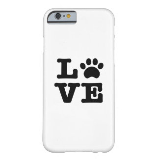 Love Paw Print iPhone 6 Case