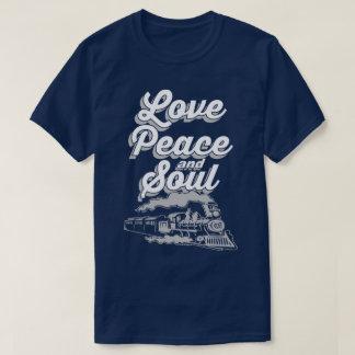 Love Peace And Soul Music Pop Disco Slogan T-Shirt
