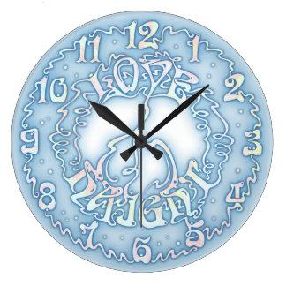 Love Peace Haight Clocks