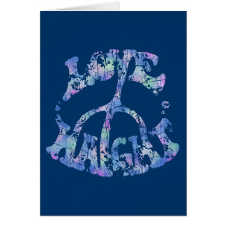 Love-Peace-Haight Greeting Card