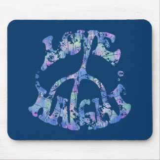 Love-Peace-Haight Mouse Mats