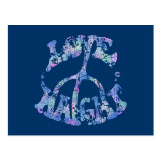 Love-Peace-Haight Postcard