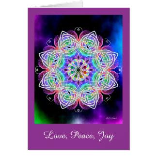 Love, Peace, Joy Card