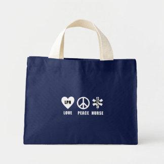 Love Peace LPN Mini Tote Bag