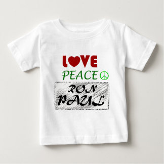 Love Peace Ron Paul.png Baby T-Shirt