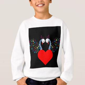 love pecock 3 sweatshirt