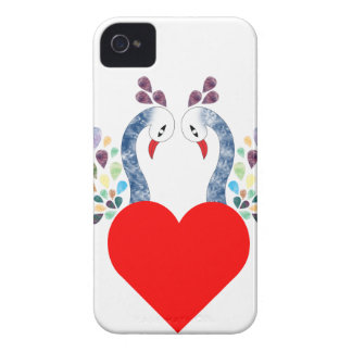 love pecock iPhone 4 case
