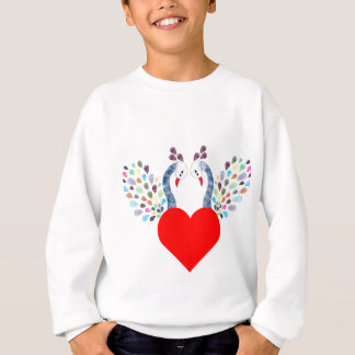 love pecock sweatshirt