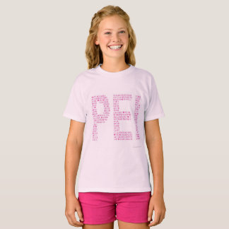 Love PEI Pink T-Shirt