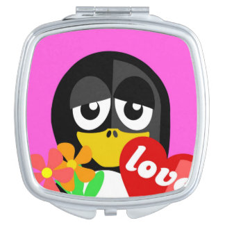 LOVE PENGUIN MIRRORS FOR MAKEUP