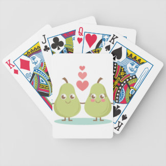 Love, perfect Pair- Wedding gifts, Anniversary Bicycle Playing Cards