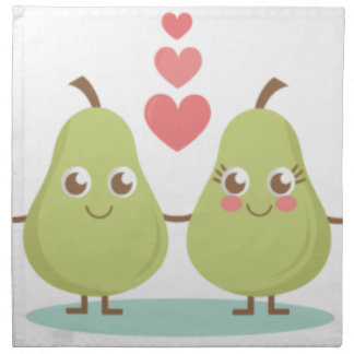 Love, perfect Pair- Wedding gifts, Anniversary Napkin