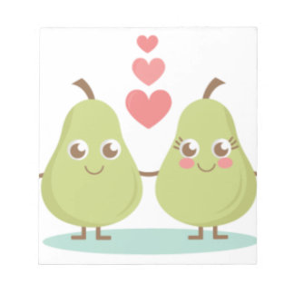 Love, perfect Pair- Wedding gifts, Anniversary Notepad