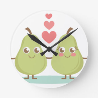 Love, perfect Pair- Wedding gifts, Anniversary Round Clock