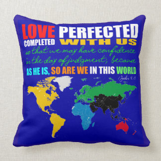 Love Perfected Cotton Throw Pillow