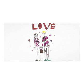 Love Personalized Photo Card