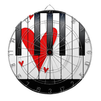 Love Piano Dartboard
