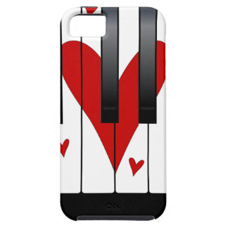 Love Piano iPhone 5 Cases