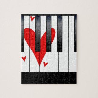 Love Piano Jigsaw Puzzle