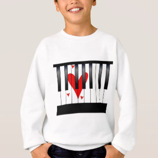 Love Piano Sweatshirt
