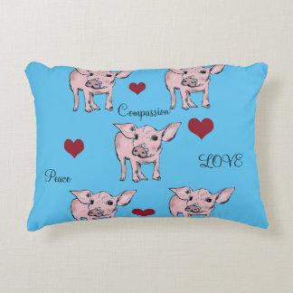 Love Pigs Pillow