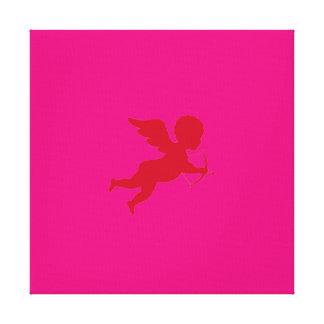 Love Pinch - Wrapped Canvas / Cupid Cherub