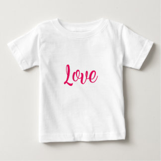 Love Pink Baby T-Shirt