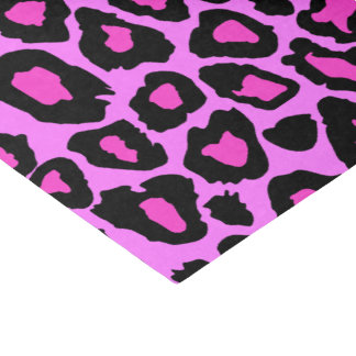 Love Pink & Leopard Celebration Party Tissue Paper