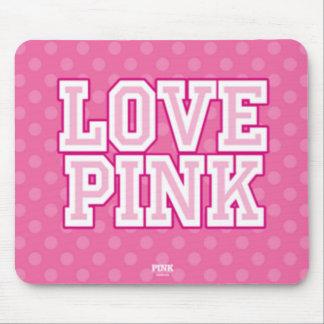 Love Pink Mousepad