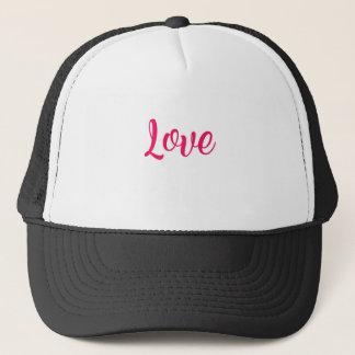 Love Pink Trucker Hat