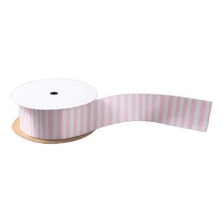 Love Pink & White Stripes Celebration Party Ribbon Satin Ribbon