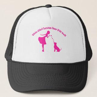 love pitty trucker hat