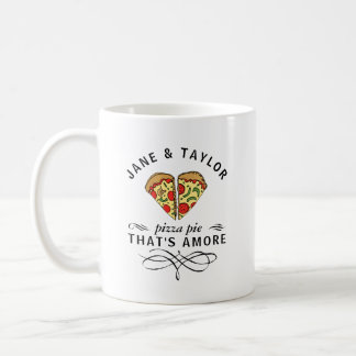 Love Pizza Personalized Coffee Mug