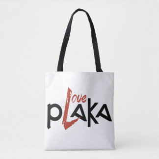 Love Plaka Tote Bag
