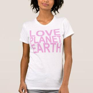 LOVE PLANET EARTH TEE SHIRTS
