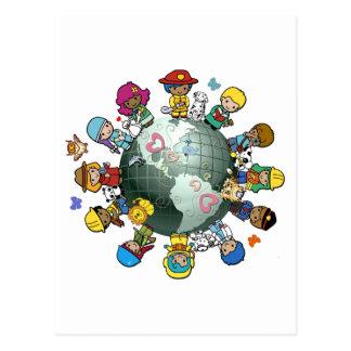 Love Planet Earth: Unite for Peace Postcard