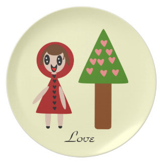 Love plate cute