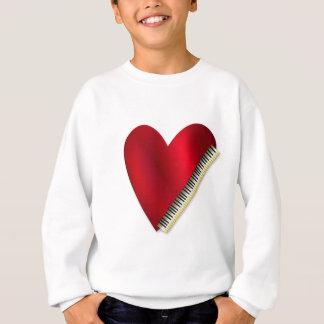 Love Playing Piano Sweatshirt