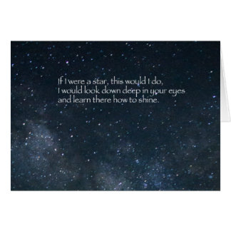 Love Poem Greeting Card