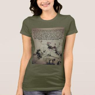 Love poem tshirt for her