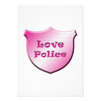 Love Police Custom Announcement
