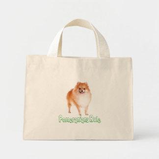 Love Pomeranian Puppy Dog Tote Bag
